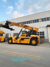Port Cargo Handling Equipment 45 Ton Container Reach Stacker Lifting Height 15100mm