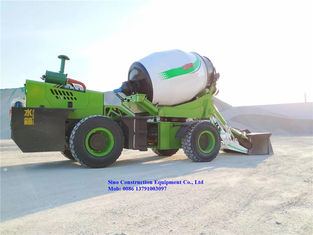 SCEC Concrete Handling Equipment 4m3 Self Loading Concrete Mixer Truck Machine