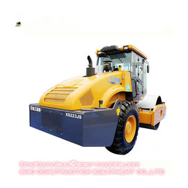 Mechanical Single Drum Vibratory Roller Compactor Compact Road Roller XS223JS