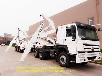 40ft Port Handling Equipment 36 Ton Telescopic Jib Crane Side Boom Crane