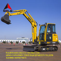 Compact 3.5 Ton Hydraulic Crawler Excavator Farm Machinery